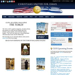 Christians United for Israel - We speak and act with one voice in support of Israel: Magazine