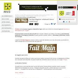 Fait Main Magazine: collaboratif, libre et créatif
