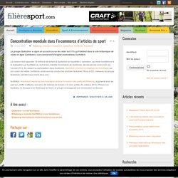 Concentration mondiale dans l'e-commerce d'articles de sport
