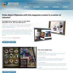 Magazine Creator - epagecreator