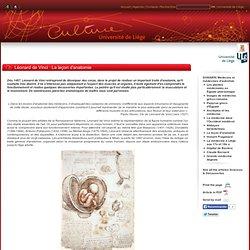 Léonard de Vinci : La leçon d'anatomie
