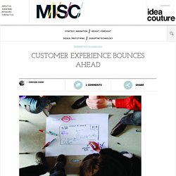 Customer Experience Bounces Ahead