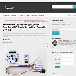 h+ Magazine | The Dawn of the Neuro Age: A DIY Revolution