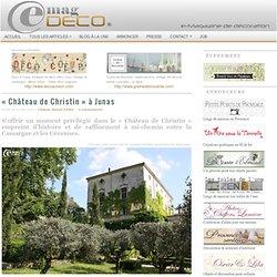 « Château de Christin » à Junas