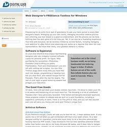 Web Designer's FREElance Toolbox for Windows
