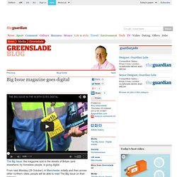 The Big Issue magazine goes digital | Media