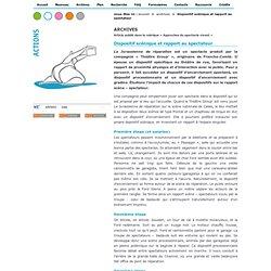 Magazine Arts et culture de l'académie de Lille - Dispositif scénique et rapport au spectateur