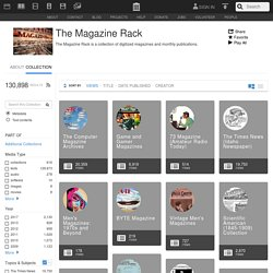 The Magazine Rack : Free Texts : Download & Streaming