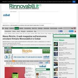 Riciclo Web Magazine sull'Economia Circolare