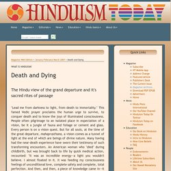 Death and Dying - Magazine Web Edition > January/February/March 2007