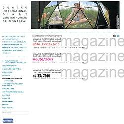 Magazine électronique du CIAC