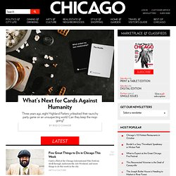 Chicago magazine - Dining, Shopping, Fashion, Entertainment, Real Estate, News and Events