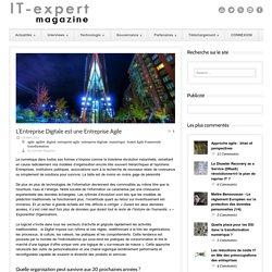 IT-expert Magazine L'Entreprise Digitale est une Entreprise Agile