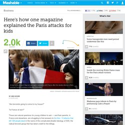 Here's how one magazine explained the Paris attacks for kids