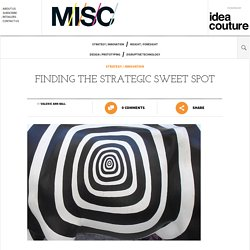 Finding the Strategic Sweet Spot