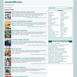 eBook - magazine-download