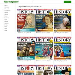 Magazine BBC History read online, download free pdf