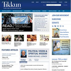 Tikkun Magazine | A Jewish Magazine, an Interfaith movement