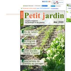 Magazine Petit Jardin N°157 - mai 2020 - Jardinage, plantes et fleurs