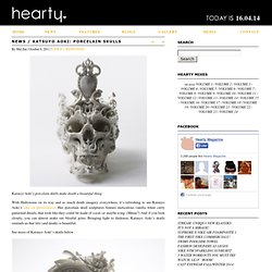 Katsuyo Aoki: Porcelain skulls