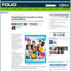 People Magazine Launches Custom Social Platform