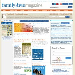 Family Tree Magazine - The Leading Family History Magazine