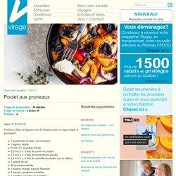Le magazine en lignePoulet aux pruneaux