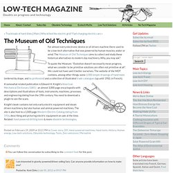 The Museum Of Old Techniques