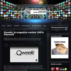 Qweekr, le magazine nantais 100% interactif