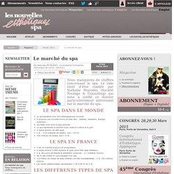 Le marché du spa - Article de Février 2013