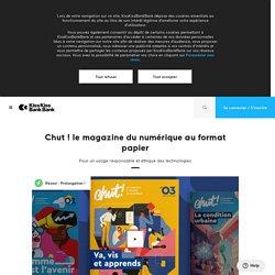 Chut ! le magazine du numérique au format papier par Chut ! magazine
