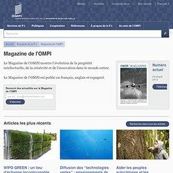 Magazine de l'OMPI