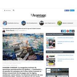 Un magazine patrimonial québécois met le cap sur le Saint-Laurent
