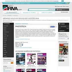 Magazine PHOTOTECH dans la cat gorie Photo - Editions Riva