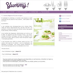 Yummy Magazine - Magazine de recettes de cuisine collaboratif et gratuit