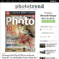 Le magazine Digital Photo arrive en France : un réchauffé d'outre-Manche