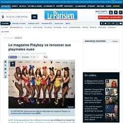 Le magazine Playboy va renoncer aux playmates nues
