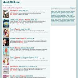 mark magazine search results - ebook3000.com