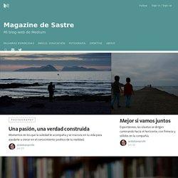 Magazine de Sastre