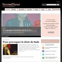 Le magazine SecondSexe - La culture du plaisir f?minin
