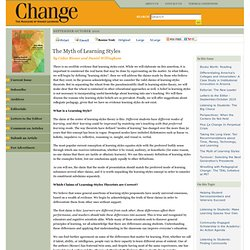 Change Magazine - September-October 2010
