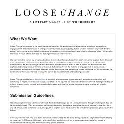 Loose Change Magazine Submission Manager