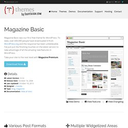 Magazine Basic | Themes by bavotasan.com
