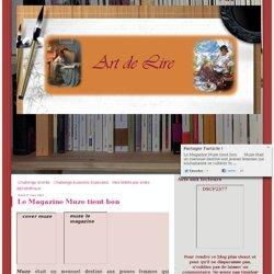 Le Magazine Muze tient bon - Le blog de Missycornish