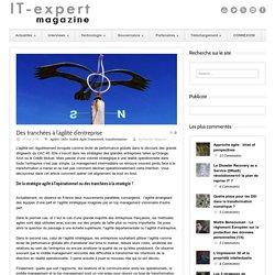 IT-expert Magazine Des tranchées à l'agilité d'entreprise