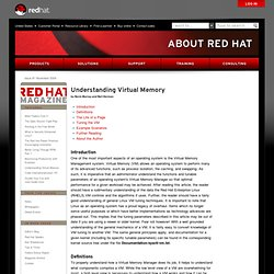 Red Hat Magazine - Understanding Virtual Memory