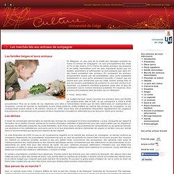 UNIVERSITE DE LIEGE - FEV 2011 - Les marchés liés aux animaux de compagnie