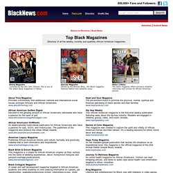 African American Magazines