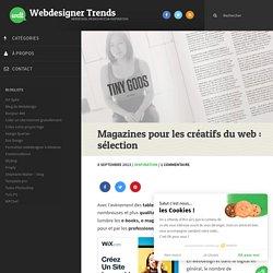 Magazines pour les créatifs du web : sélection