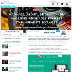 Madmagz, un outil de création de magazines pensé aussi pour les établissements scolaires